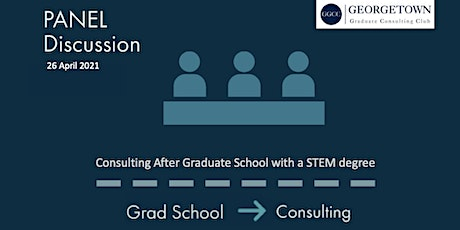 Copy of Copy of Consulting after Graduate School: STEM edition tickets