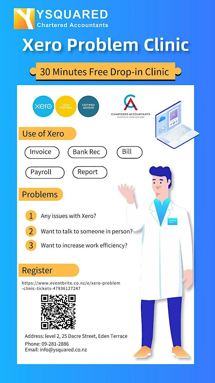 Xero Problem Clinic image