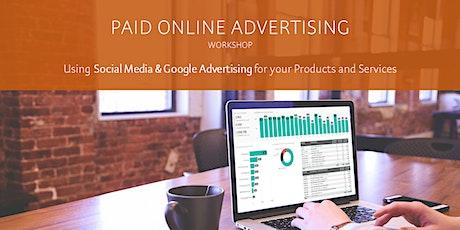 Paid Online Advertising - Facebook & Google tickets