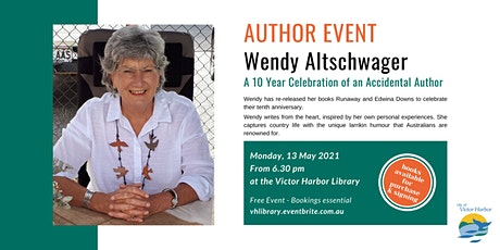 Wendy Altschwager - A 10 Year Celebration of an Accidental Author tickets