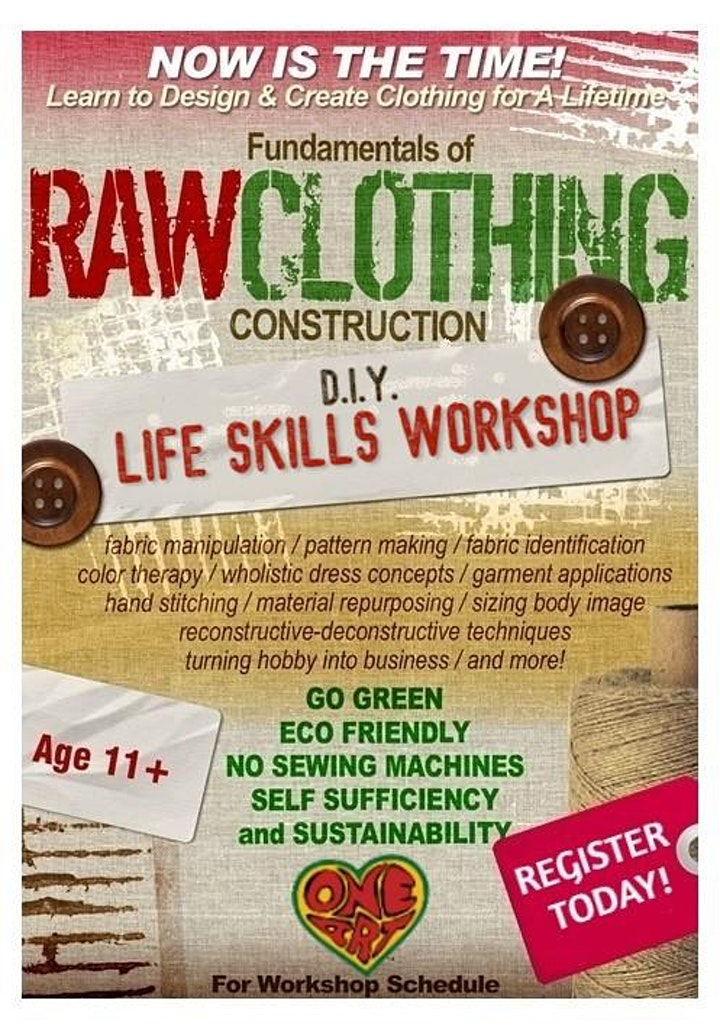 Fundamentals of Raw Clothing Construction DIY Series image