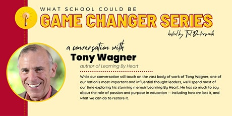 A Conversation with Tony Wagner and Ted Dintersmith tickets