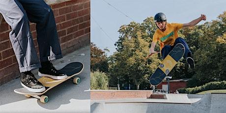 Grundkurs i åka Skateboard för vuxna biljetter