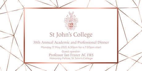 Academic and Professional Dinner tickets