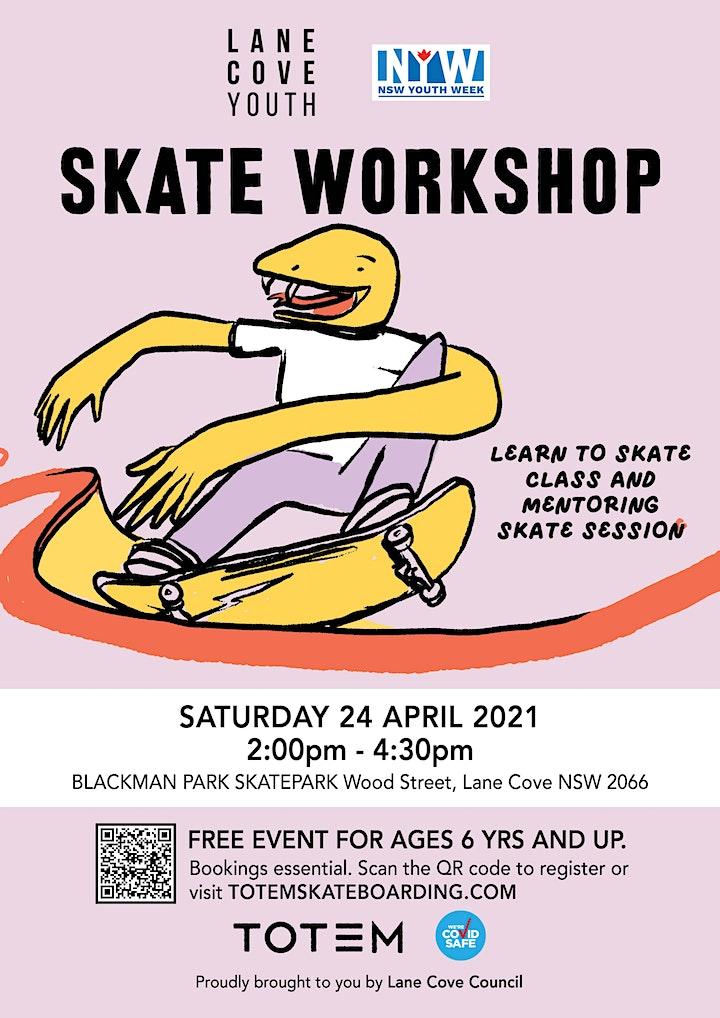 Blackman Park Skatepark Lane Cove - Skate Workshop image