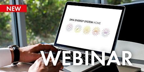 SMA Energy System Home: Solaranlagen in bestehende Heimnetzwerke einbinden tickets