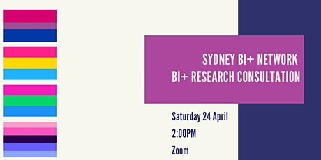 Bi+ Research Consultation tickets