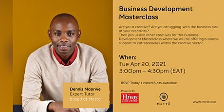 Business Development Masterclass tickets