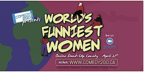 Comedy2Go presents: World's Funniest Women | Live Online Show tickets
