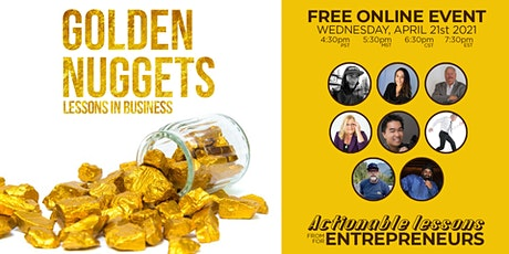 GOLDEN NUGGETS: Lessons in Entrepreneurship tickets