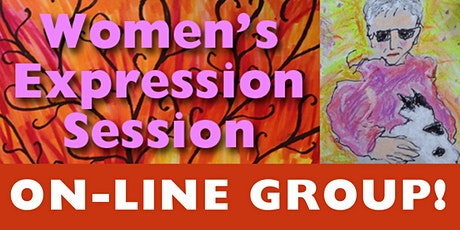 Women's Expression Session - Women meeting through art tickets