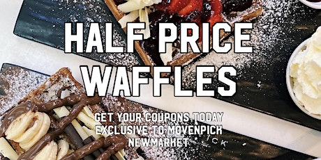 HALF PRICE WAFFLES PARTY tickets