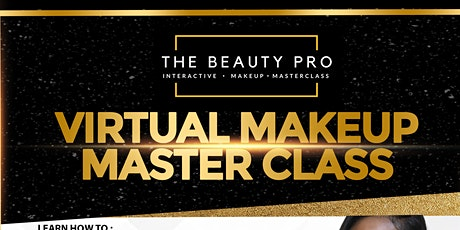The Beauty Pro Virtual Makeup Masterclass tickets