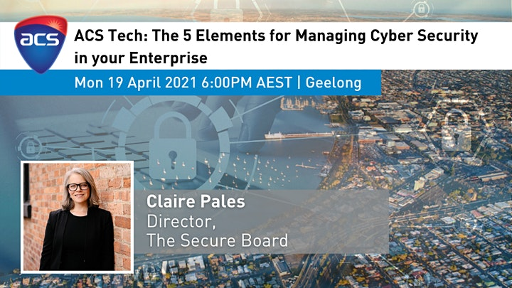 ACS Tech (Geelong): The 5 elements for managing cyber security risk image