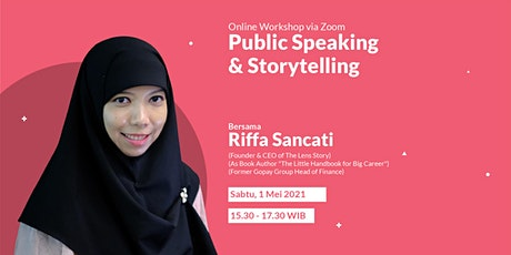Public Speaking & Storytelling tickets