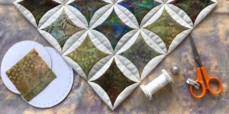 Japanese folded Patchwork with Margaret Brown via Zoom tickets