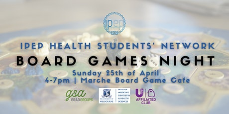 IPEP-HSN Board Games Night tickets