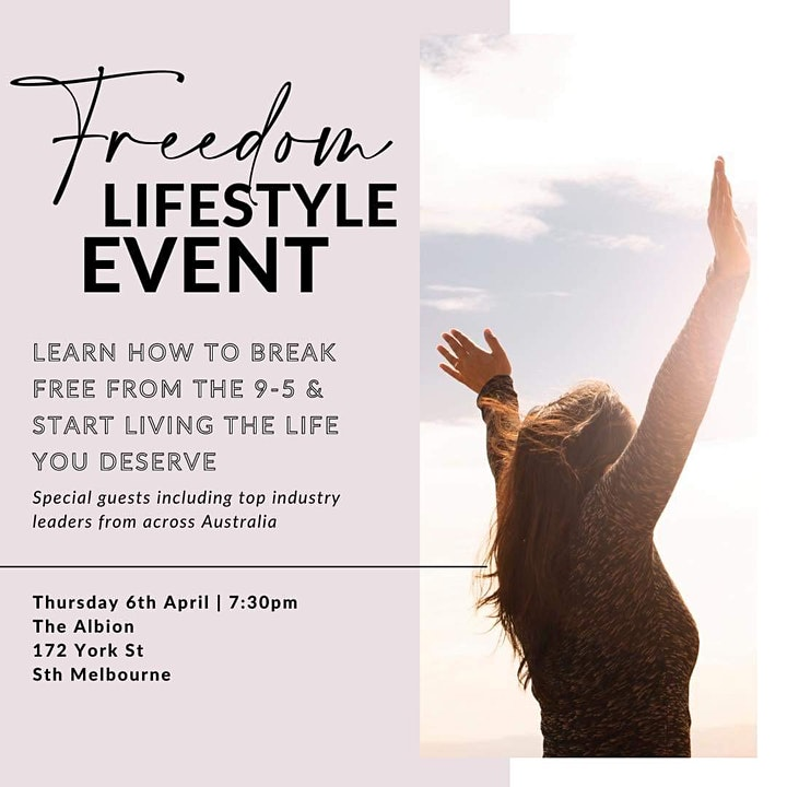 Freedom Lifestyle Event The Albion image