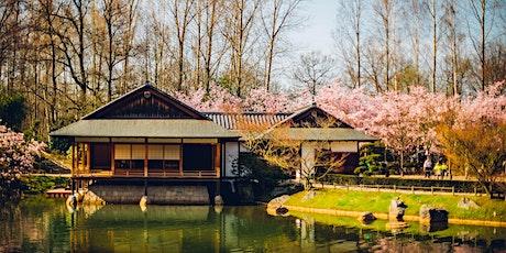 Japanse Tuin 15 mei  voormiddag10u00 - 13u30  - morning 10:00 - 13:30 billets