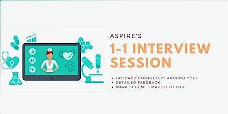 Aspire Medicine & Dentistry's 1-1 Medicine & Dentistry Interview Session tickets