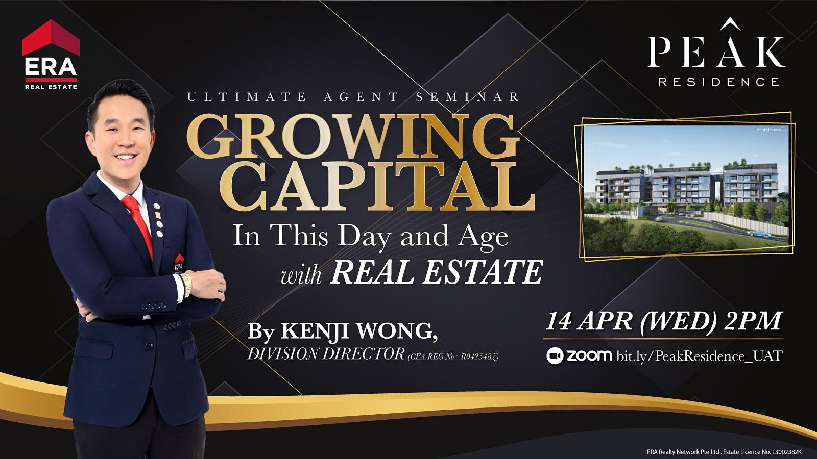 Growing Capital in This Day and Age With Real Estate (Peak Residences)