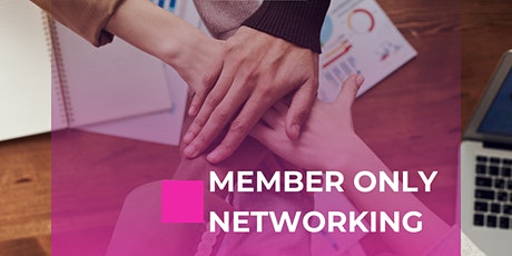 Member Only Networking tickets