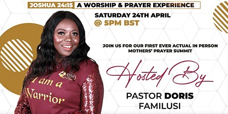 JTMC  Mothers' Prayer Summit - April 2021 tickets