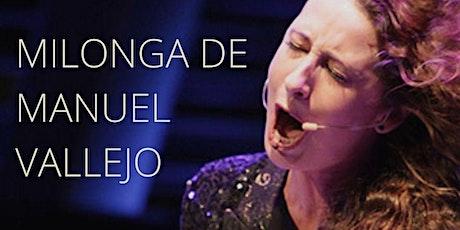 ONLINE Masterclass LA TREMENDITA / Milonga de Manuel Vallejo entradas