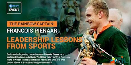 The Rainbow Captain: Francois Pienaar,  Leadership Lessons From Sports billets
