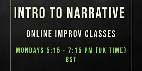 Intro to Narrative improv tickets