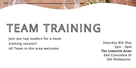 Team Training tickets