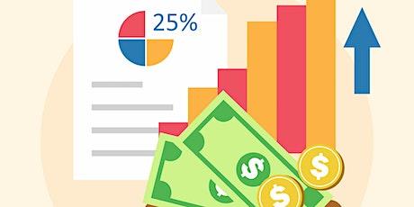 Estrategias para  aumentar los ingresos de tu negocio bilhetes