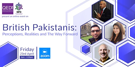 British Pakistanis: Perceptions, Realities and The Way Forward tickets