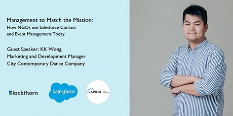 How NGOs use Salesforce Contact and Event Management Today tickets