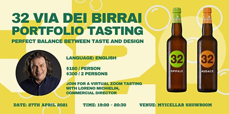 Perfect Balance Between Taste and Design - 32 Via Dei Birrai tickets
