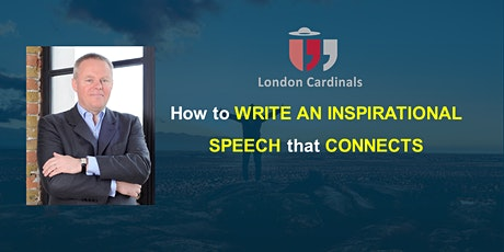 How to write an inspirational speech that connects! With Freddie Daniells tickets