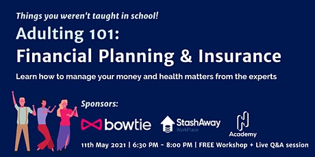 Adulting 101: Financial Planning & Insurance tickets