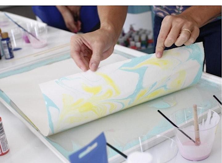 Paper Marbling Workshop image