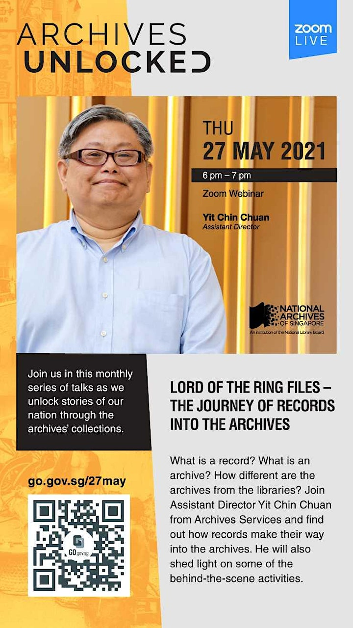 Lord of the Ring Files – The Journey of Records into the Archives image