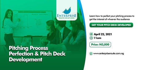 Pitching Process Perfection & Pitch Deck Development tickets