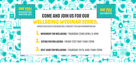 Wellbeing Webinars by ONE YOU tickets