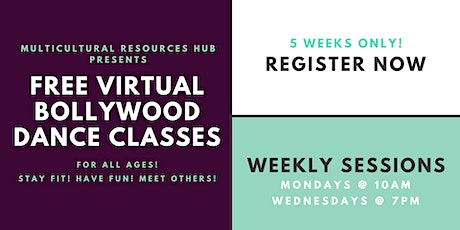 Free Virtual Bollywood Dance Classes For All  Ages tickets