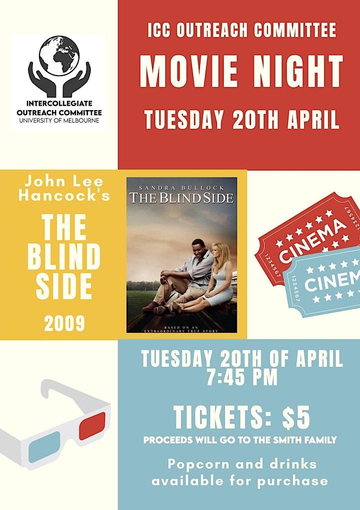 Intercollegiate Outreach Movie Fundraiser image