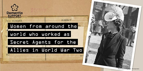 WW2 International  Women Secret Agents tickets