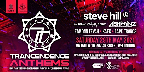 Trancendence Anthems Party: Anthems from the past, present and the future! tickets