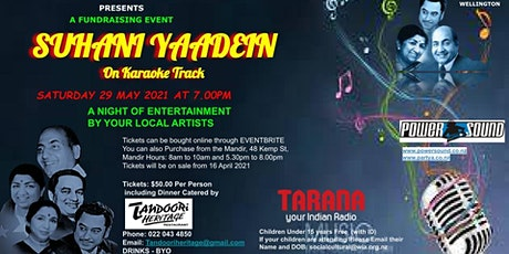 Suhani Yaaden tickets