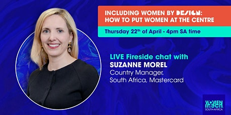 Fireside chat with Suzanne Morel - Country Manager of SA at Mastercard tickets
