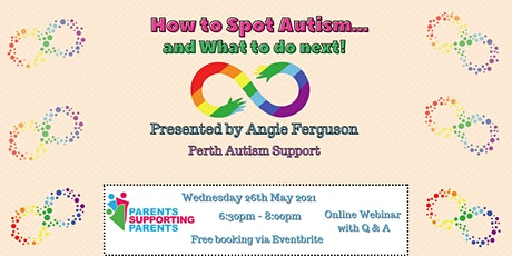 How to Spot Autism...and What to do Next! tickets