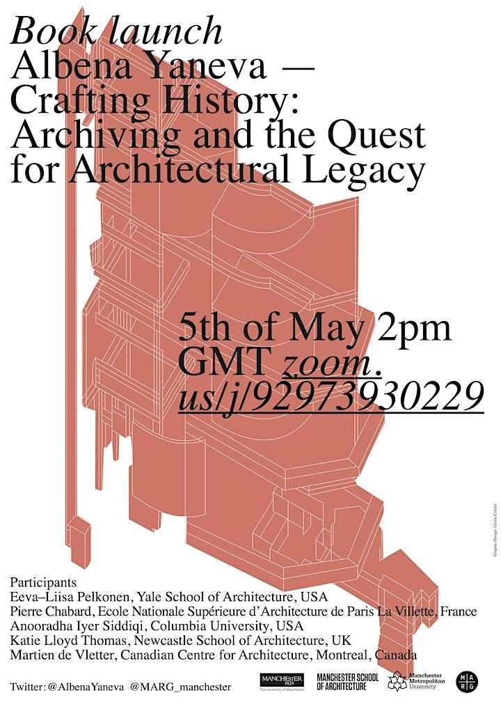 Book Launch - Albena Yaneva 'Crafting History' image