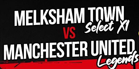 Melksham Town Select XI v Manchester United Legends tickets